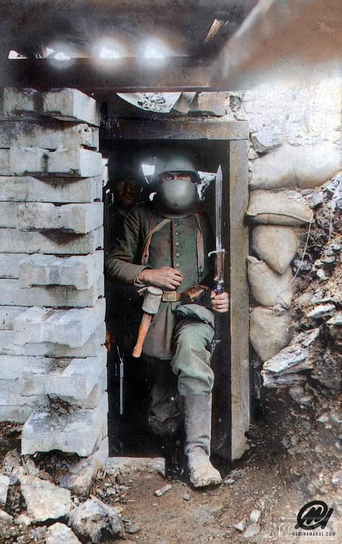 101567 - Военное фото. Западный фронт. 1914-1918г.г.