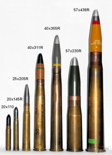102538 - Клейма 40x311/365mm Anti-Aircraft Gun Bofors.