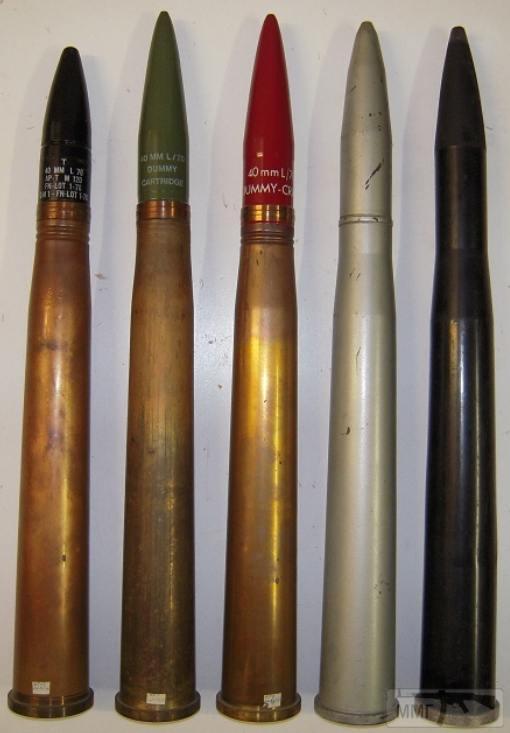 102553 - Клейма 40x311/365mm Anti-Aircraft Gun Bofors.