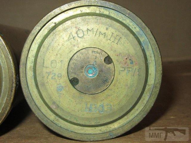 102574 - Клейма 40x311/365mm Anti-Aircraft Gun Bofors.