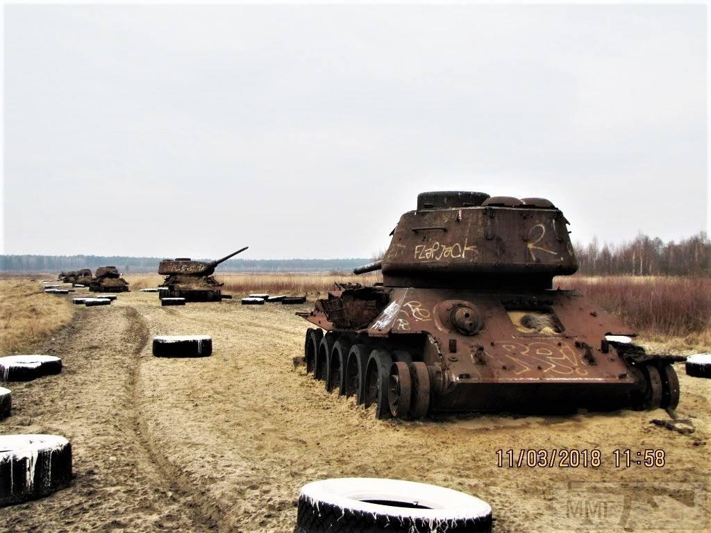 103002 - Послевоенное использование советской бронетехники WW2