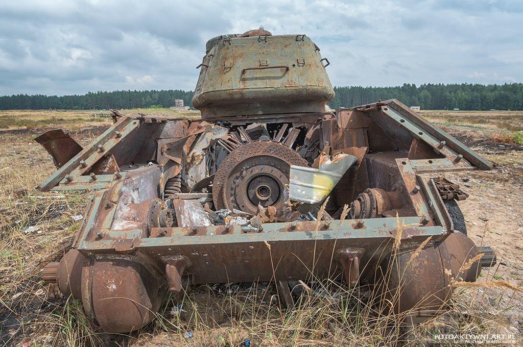 103101 - Послевоенное использование советской бронетехники WW2