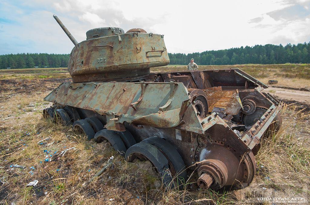 103102 - Послевоенное использование советской бронетехники WW2