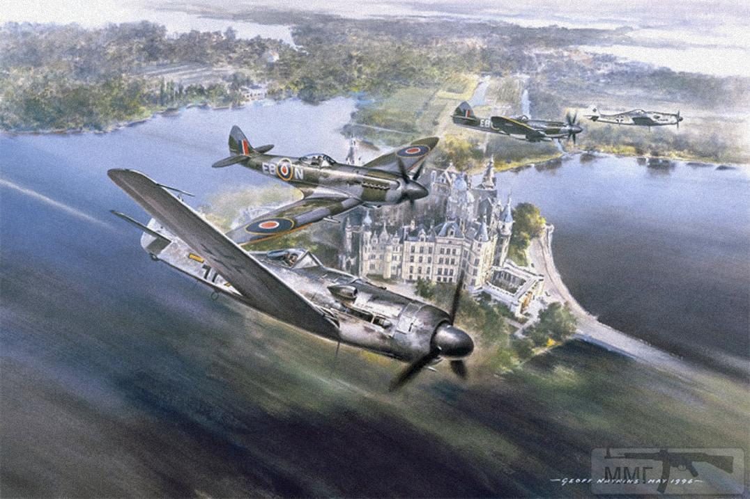 104132 - Художественные картины на авиационную тематику