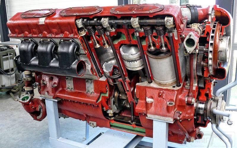 10445 - Двигатель В-2.