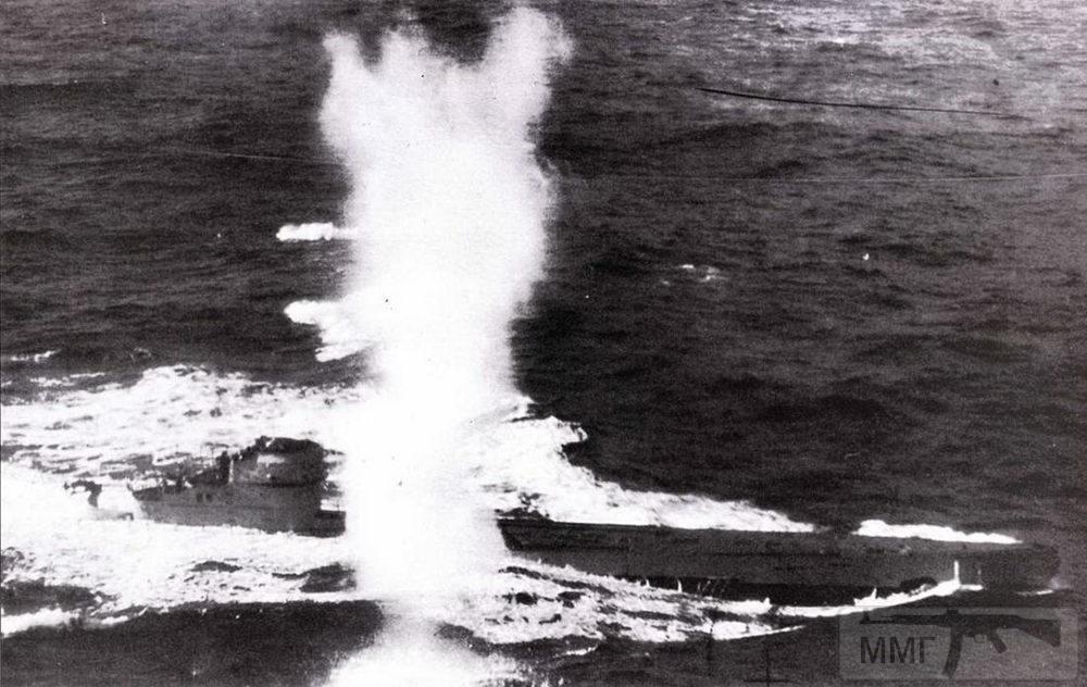 104899 - Действия немецких подлодок в Атлантике