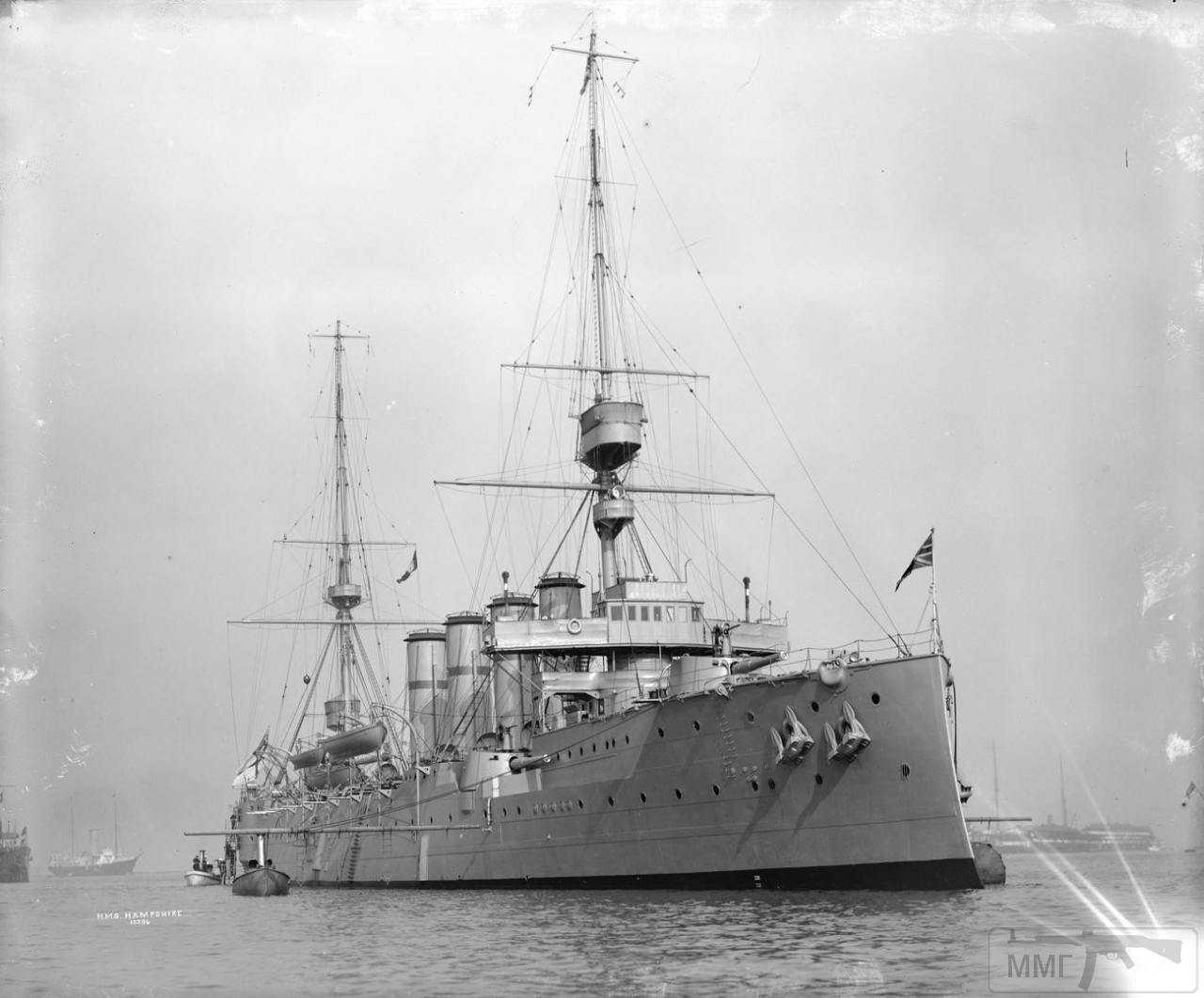 104922 - HMS Hampshire