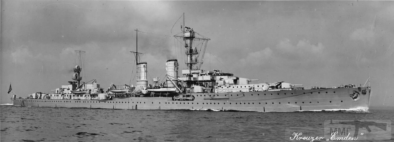 104925 - Легкий крейсер Emden