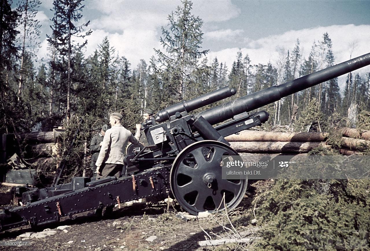 105189 - Немецкая артиллерия второй мировой