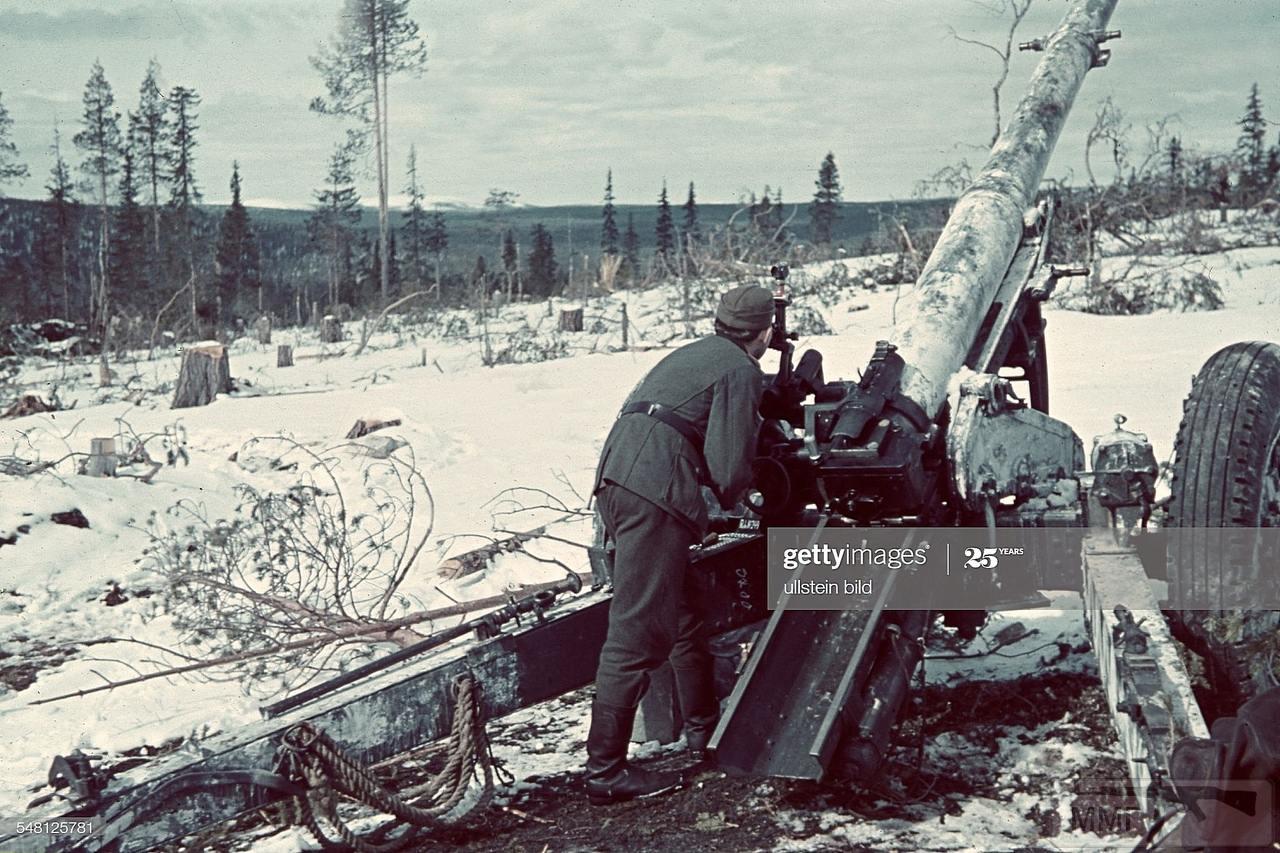 105190 - Немецкая артиллерия второй мировой