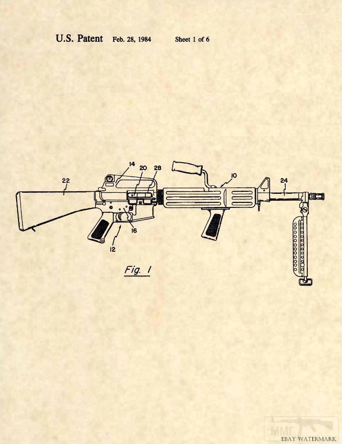 10532 - Семейство Armalite / Colt AR-15 / M16 M16A1 M16A2 M16A3 M16A4