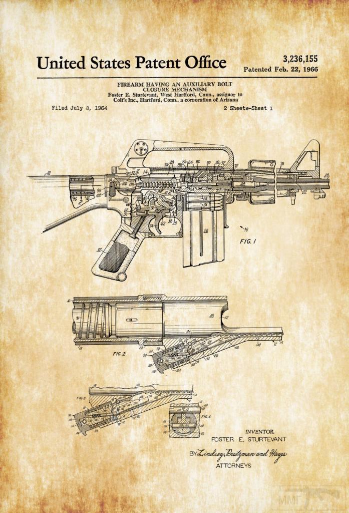 10534 - Семейство Armalite / Colt AR-15 / M16 M16A1 M16A2 M16A3 M16A4