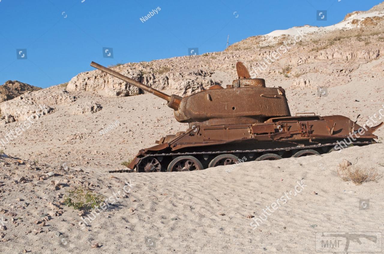 105807 - Послевоенное использование советской бронетехники WW2