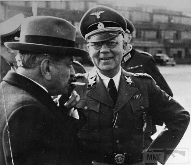 106324 - лаваль и карл оберг начальник СС и полиции Франции