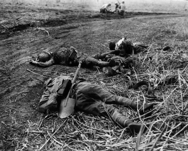 106705 - Военное фото 1941-1945 г.г. Тихий океан.