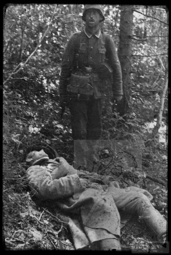 106792 - Военное фото 1941-1945 г.г. Восточный фронт.