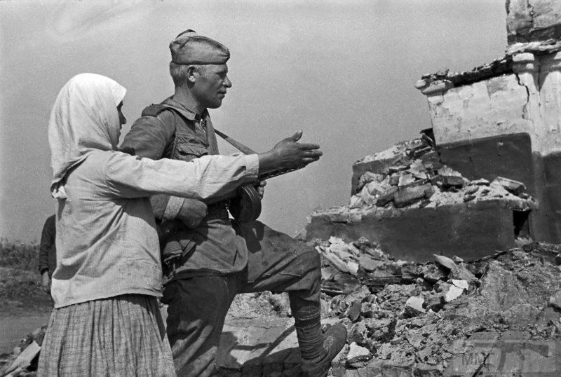 107099 - Военное фото 1941-1945 г.г. Восточный фронт.