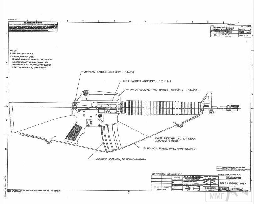 108954 - Семейство Armalite / Colt AR-15 / M16 M16A1 M16A2 M16A3 M16A4