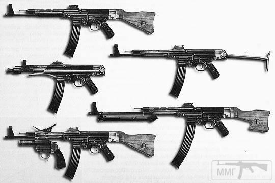 109344 - Sturmgewehr Haenel / Schmeisser MP 43MP 44 Stg.44 - прототипы, конструкция история