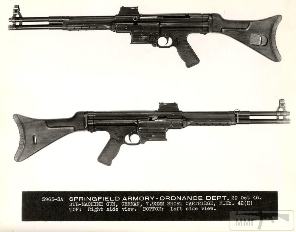 109345 - Sturmgewehr Haenel / Schmeisser MP 43MP 44 Stg.44 - прототипы, конструкция история