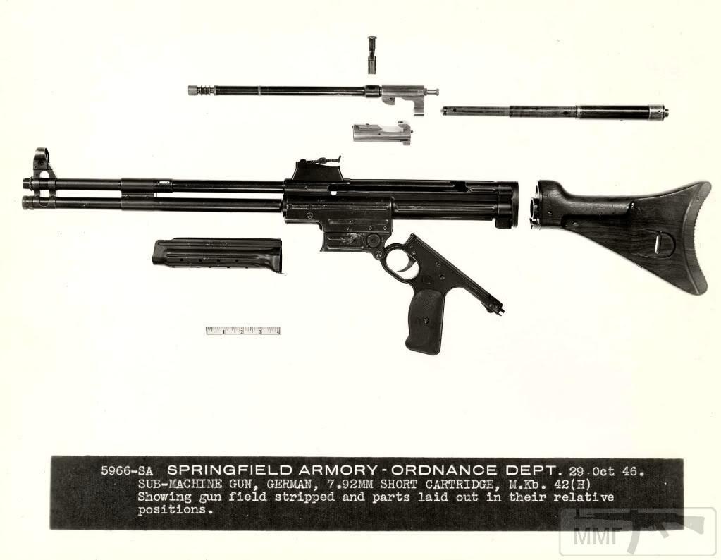 109346 - Sturmgewehr Haenel / Schmeisser MP 43MP 44 Stg.44 - прототипы, конструкция история