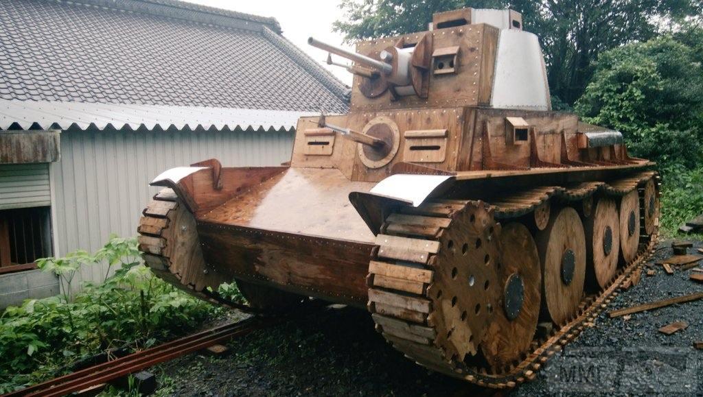 109495 - Деревянный танк
