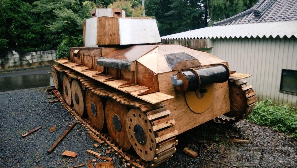 109496 - Деревянный танк