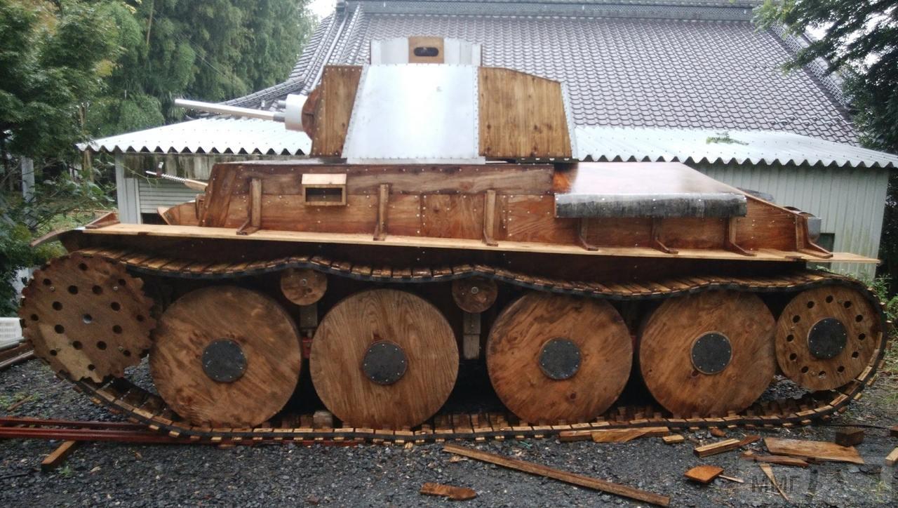 109497 - Деревянный танк