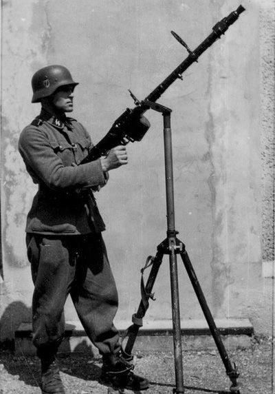 10953 - Все о пулемете MG-34 - история, модификации, клейма и т.д.