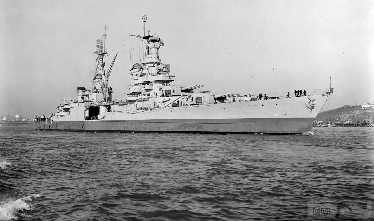 109542 - USS Indianapolis (CA-35)