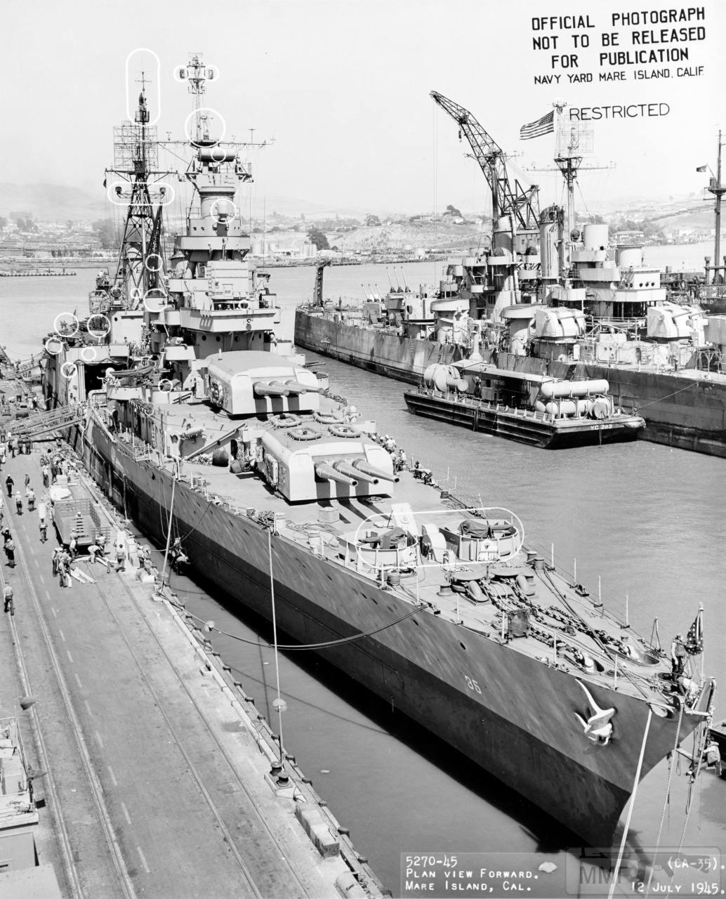 109545 - USS Indianapolis (CA-35)