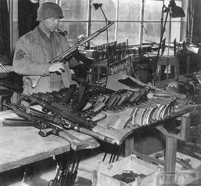 109736 - Sturmgewehr Haenel / Schmeisser MP 43MP 44 Stg.44 - прототипы, конструкция история