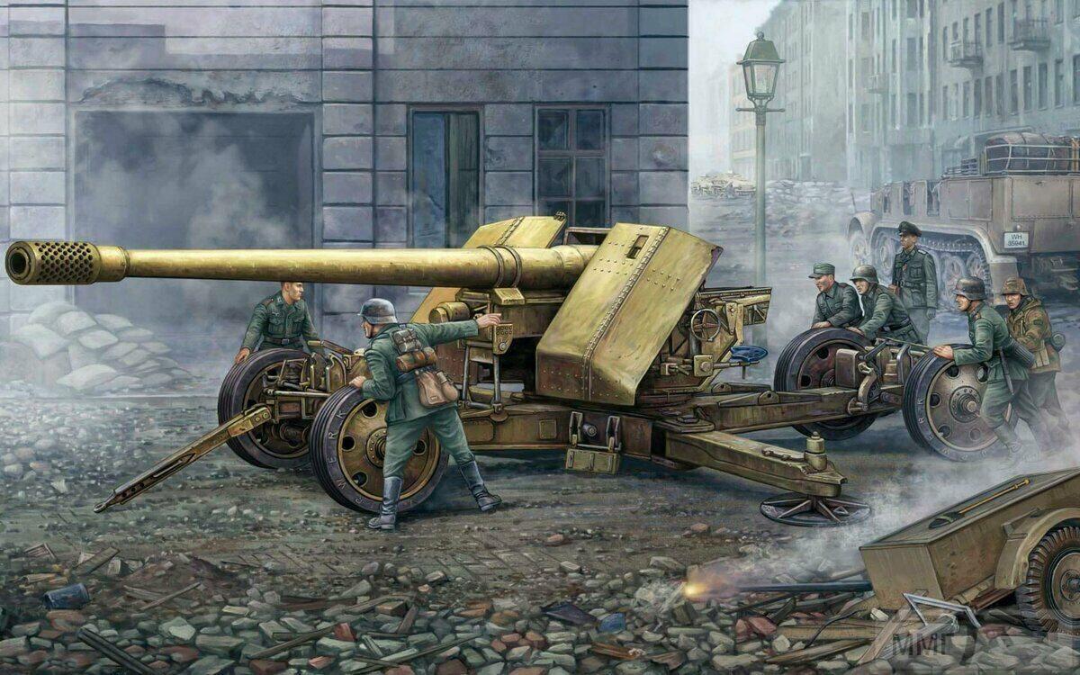 109826 - Немецкая артиллерия второй мировой