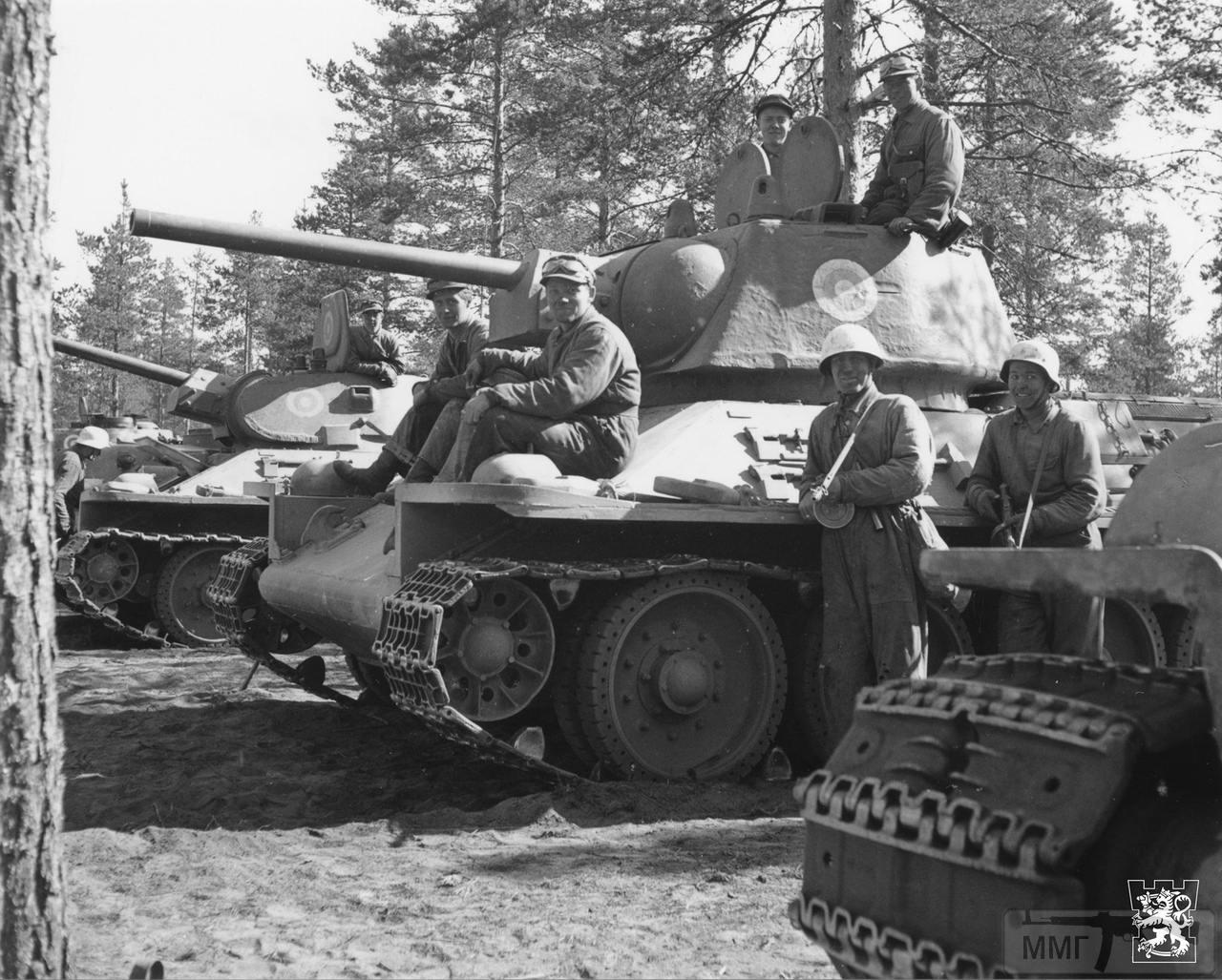 109848 - Послевоенное использование советской бронетехники WW2