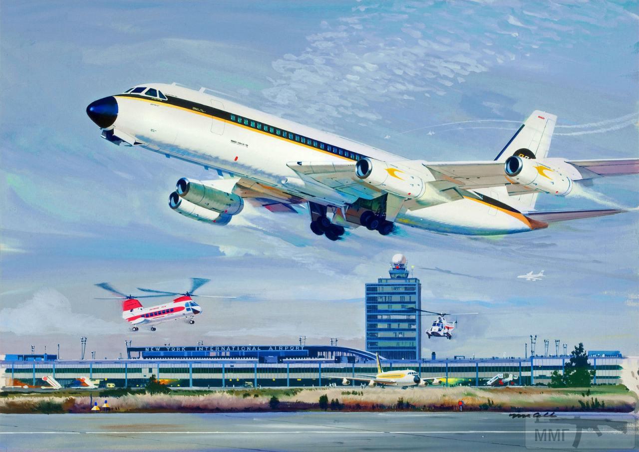 110029 - Художественные картины на авиационную тематику