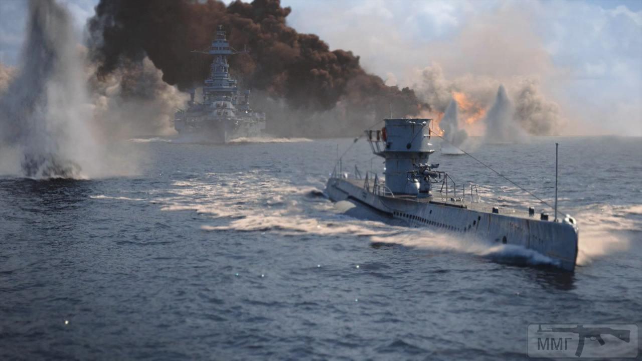 110317 - Действия немецких подлодок в Атлантике