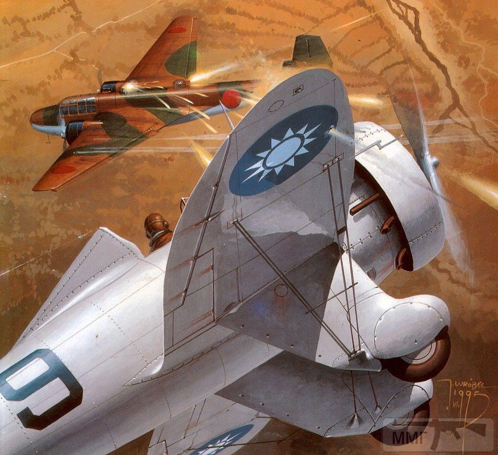 110409 - Художественные картины на авиационную тематику