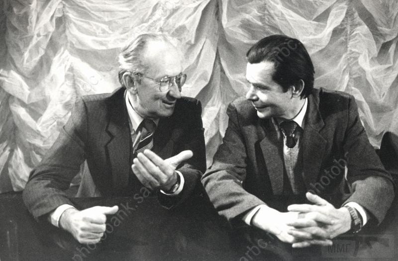 """11066 - Умнов Георгий Архипович (слева) - руководитель """"Тантала"""" в период производства моделей с 1960 по 1997 год."""
