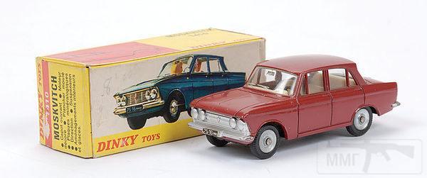 11070 - Модель Москвича-408 фирмы Dinky Toys, сделанная во Франции.