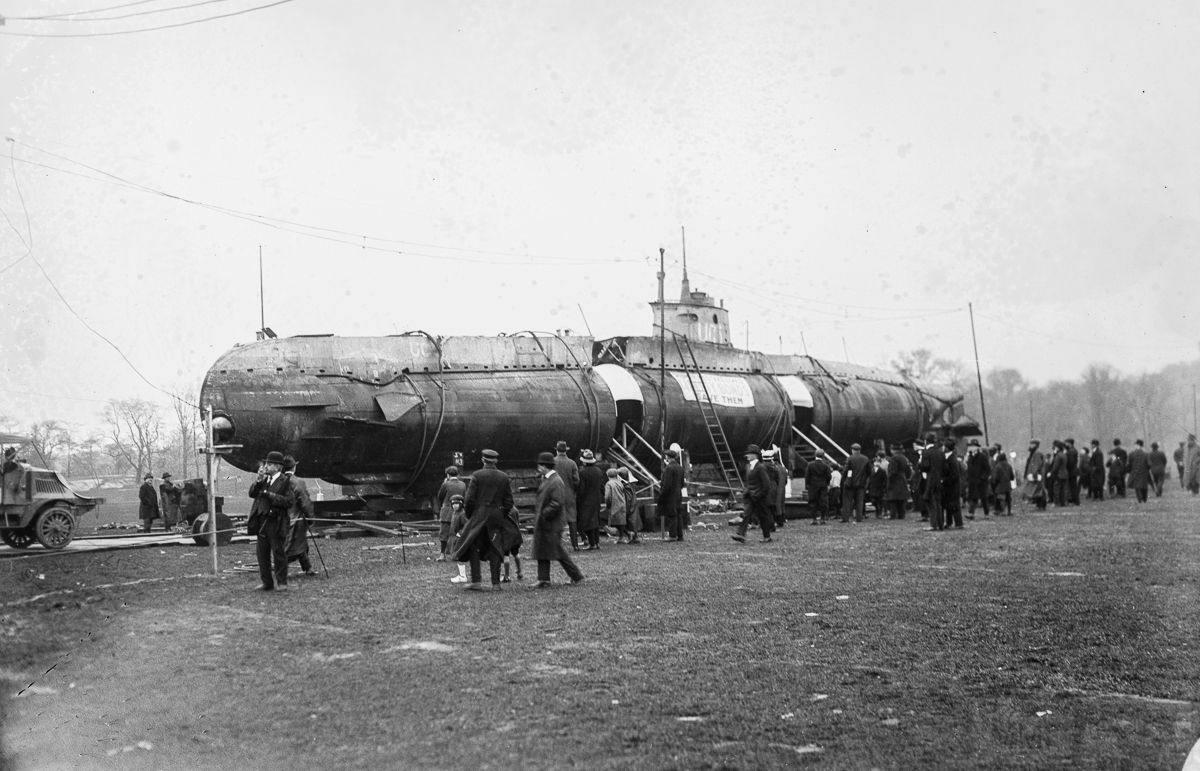 11114 - Волчьи Стаи - Германские подводные лодки двух мировых войн