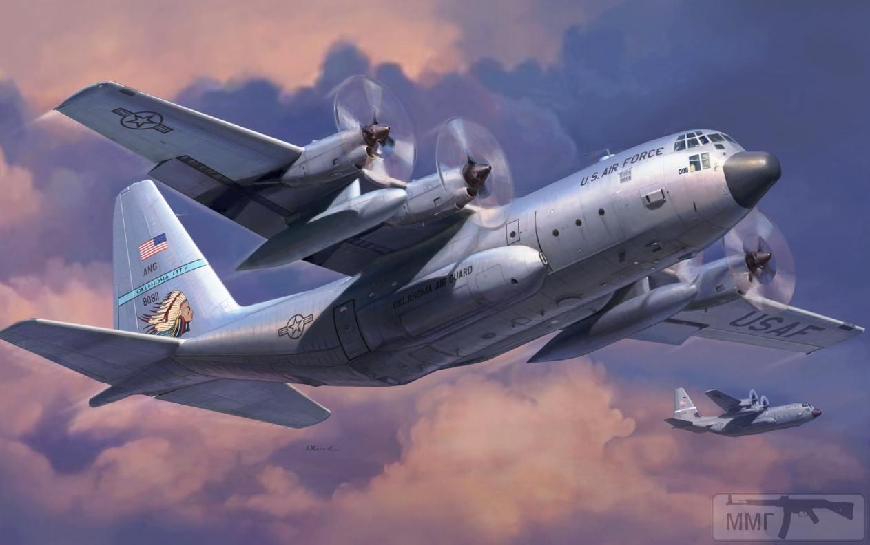 111147 - Художественные картины на авиационную тематику