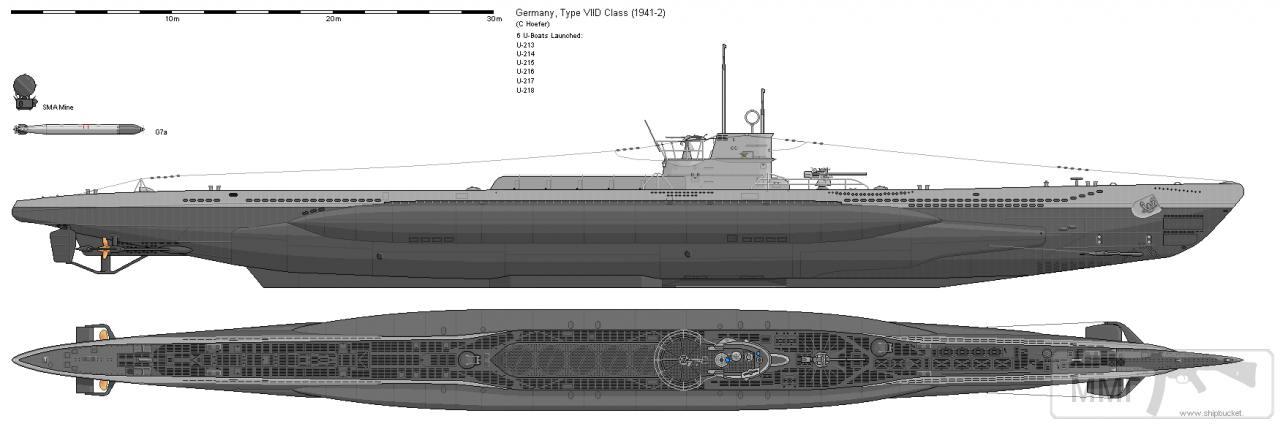 112081 - Волчьи Стаи - Германские подводные лодки двух мировых войн