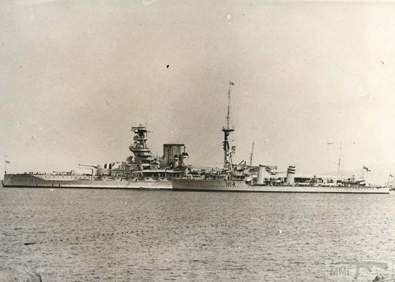 112082 - HMS Barham и эсминец HMS Active (H14)