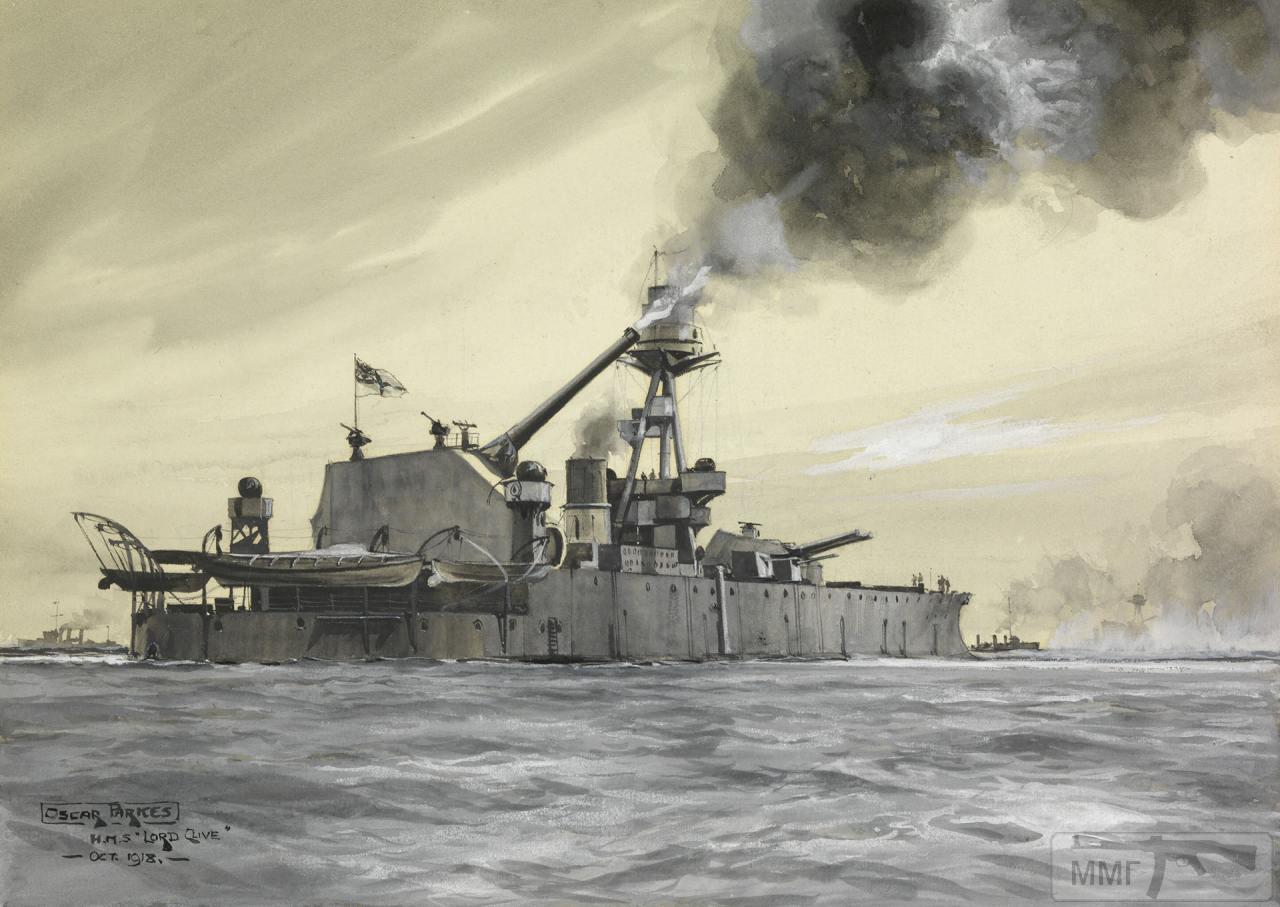 112124 - Броненосцы, дредноуты, линкоры и крейсера Британии