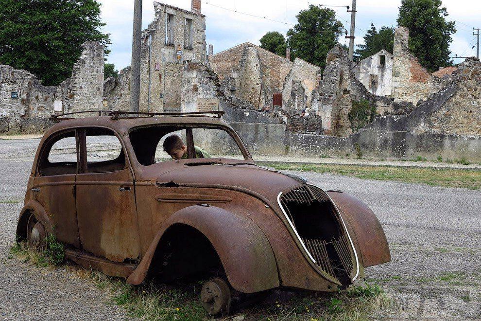 112375 - Орадур-сюр-Глан. Французская Хатынь