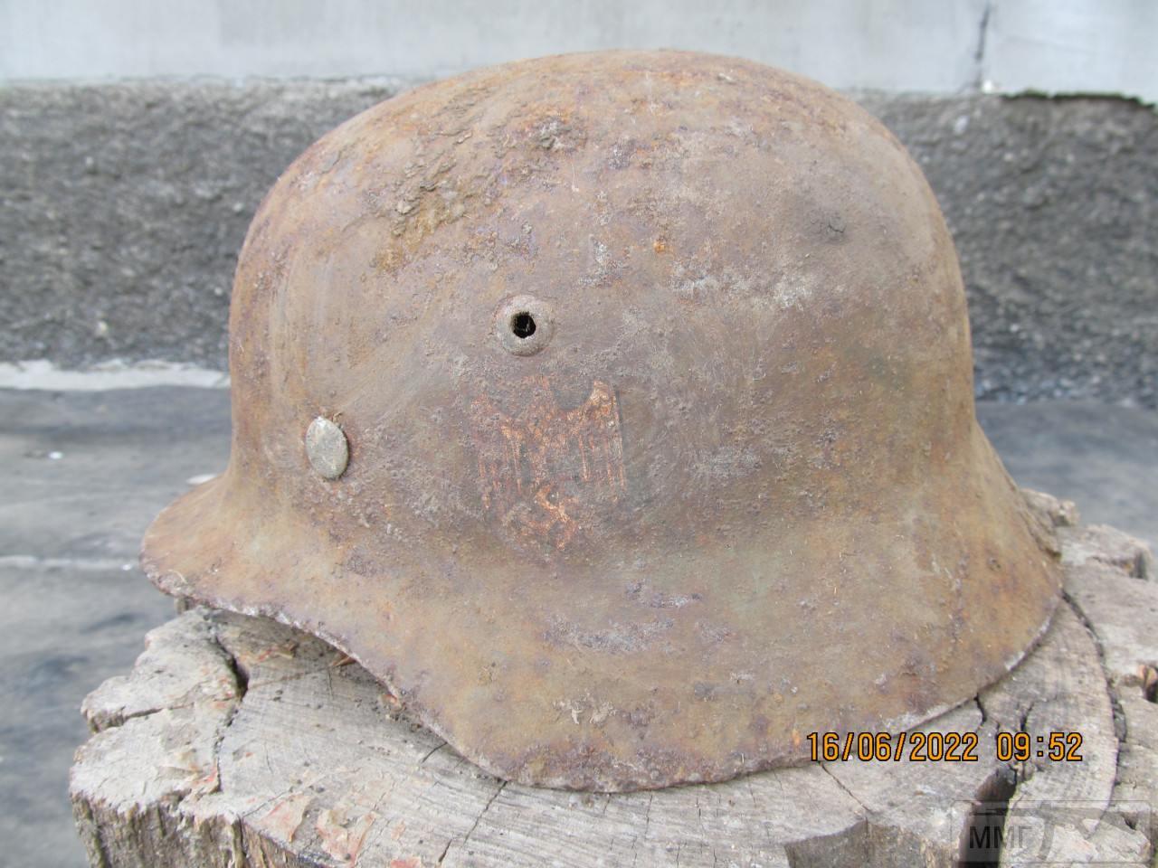 112423 - Реанімація залізної шапки вермахта М35