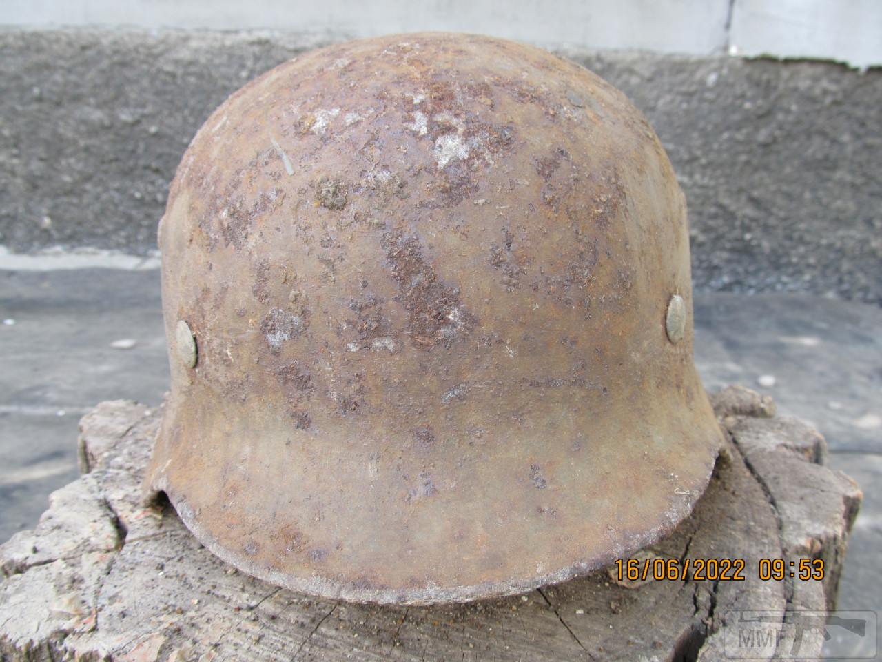 112425 - Реанімація залізної шапки вермахта М35
