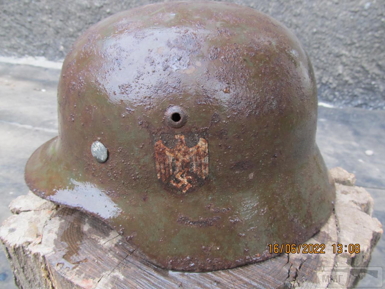 112428 - Реанімація залізної шапки вермахта М35