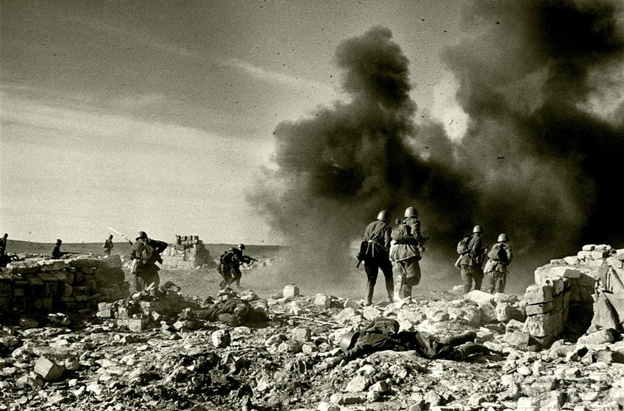 112464 - Бой за деревню Корпечь (с 1948 года Птичное) в Крыму. 26 апреля 1942 года.