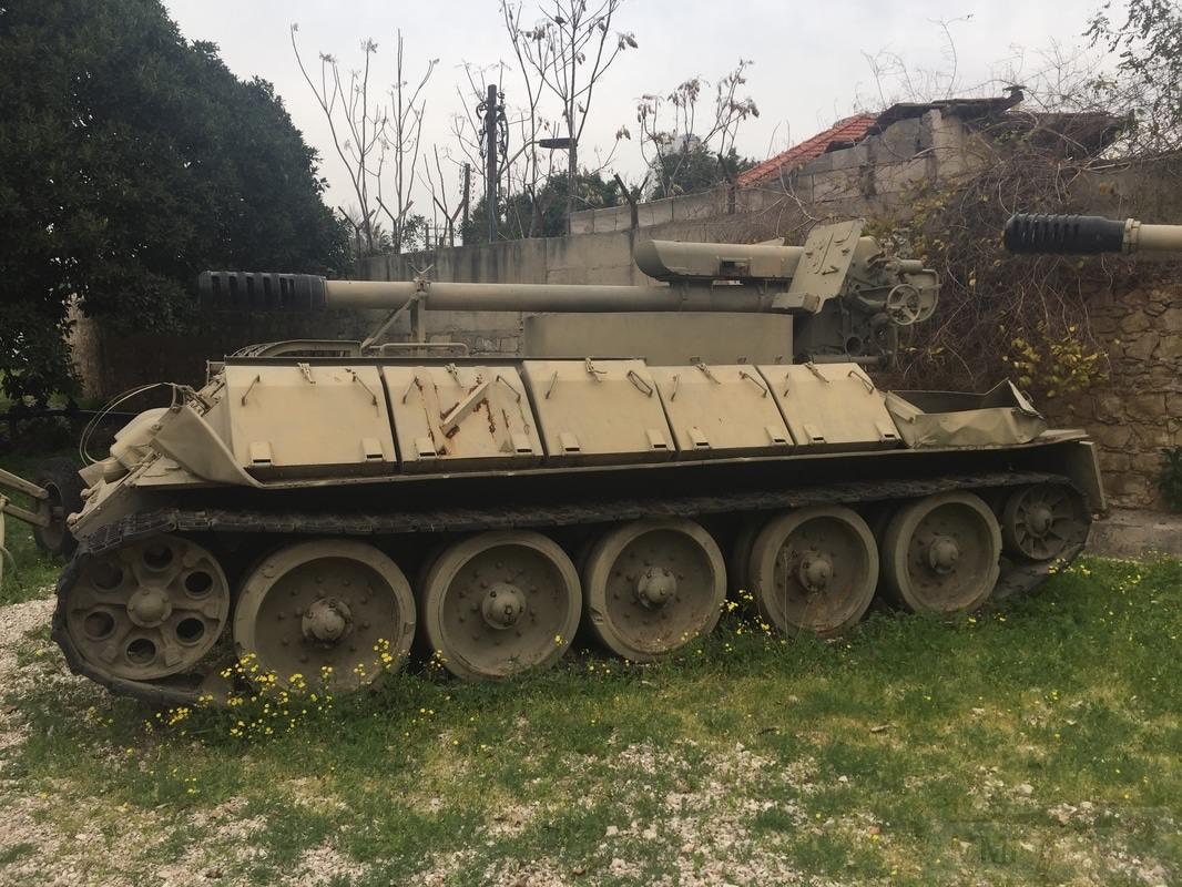 11362 - Послевоенное использование советской бронетехники WW2